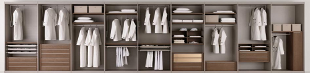 kvalitní vestavěné skříně